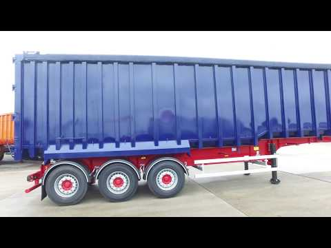 New 2017 SDC / Draycott Steel Body Tipping / Tipper Trailer For Sale