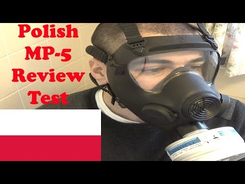 Polish MP5 Gas Mask Review and Test