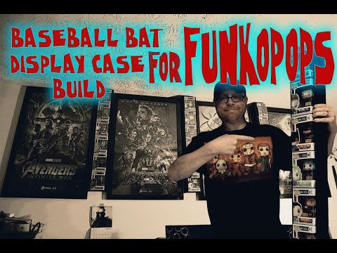 Setting Up The Baseball Bat Display Case For Your In Box Funko