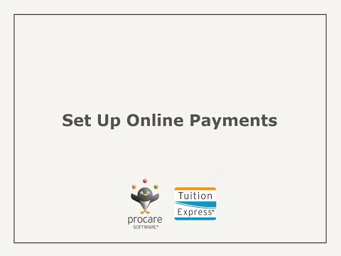 Tuition Express: Set Up Online Payments