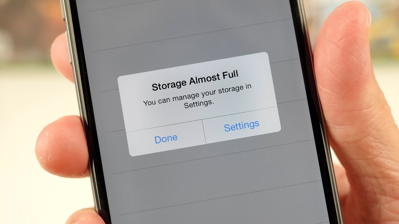 what takes up storage on iphone storage almost make it go away 7930