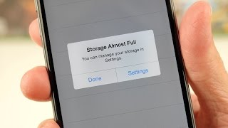 Storage Almost Full: Make it go away!