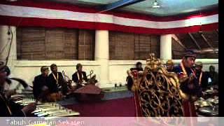 Indonesia Culture-Tabuh Gamelan Sekaten Keraton Kasunanan Surakarta Hadiningrat