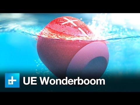 UltimateEars Wonderboom Waterproof Bluetooth Speaker - Hands On Review