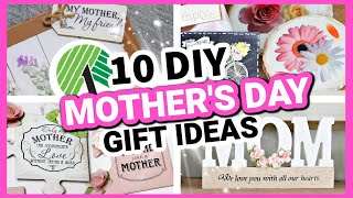 DIY MOTHER'S DAY GIFTS (Easy but Impressive!) | 10 Dollar Tree DIY Mother's Day Gift Ideas 2021