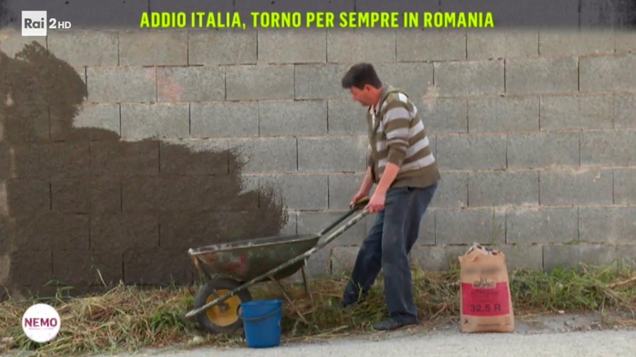 Addio Italia, torno per sempre in Romania - Nemo – Nessuno Escluso 27/04/2017
