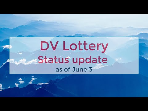 DV Lottery | Jun 3 2020 update