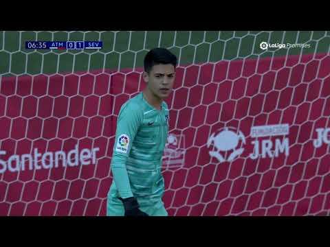 Semifinal: Resumen Atlético de Madrid vs Sevilla FC (0-1) LaLiga Promises Abu Dhabi 2019