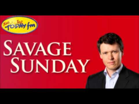 Savage interview Shay Healy spills the beans to Anton TodayF