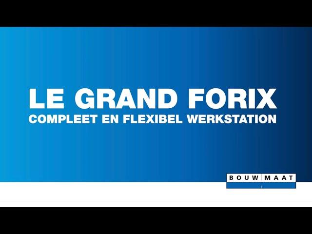 Installatie van Legrand Forix werkstation