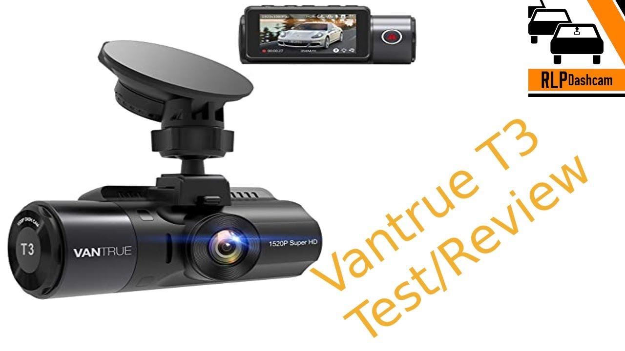 Vantrue T3 im TEST! Dashcam-Test/Dashcam-Review (GERMAN)