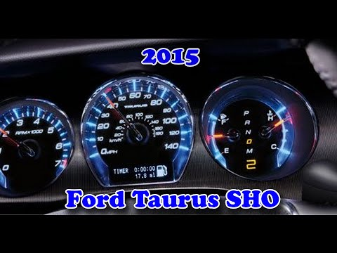 2015 Ford Taurus Sho 0 60 Youtube