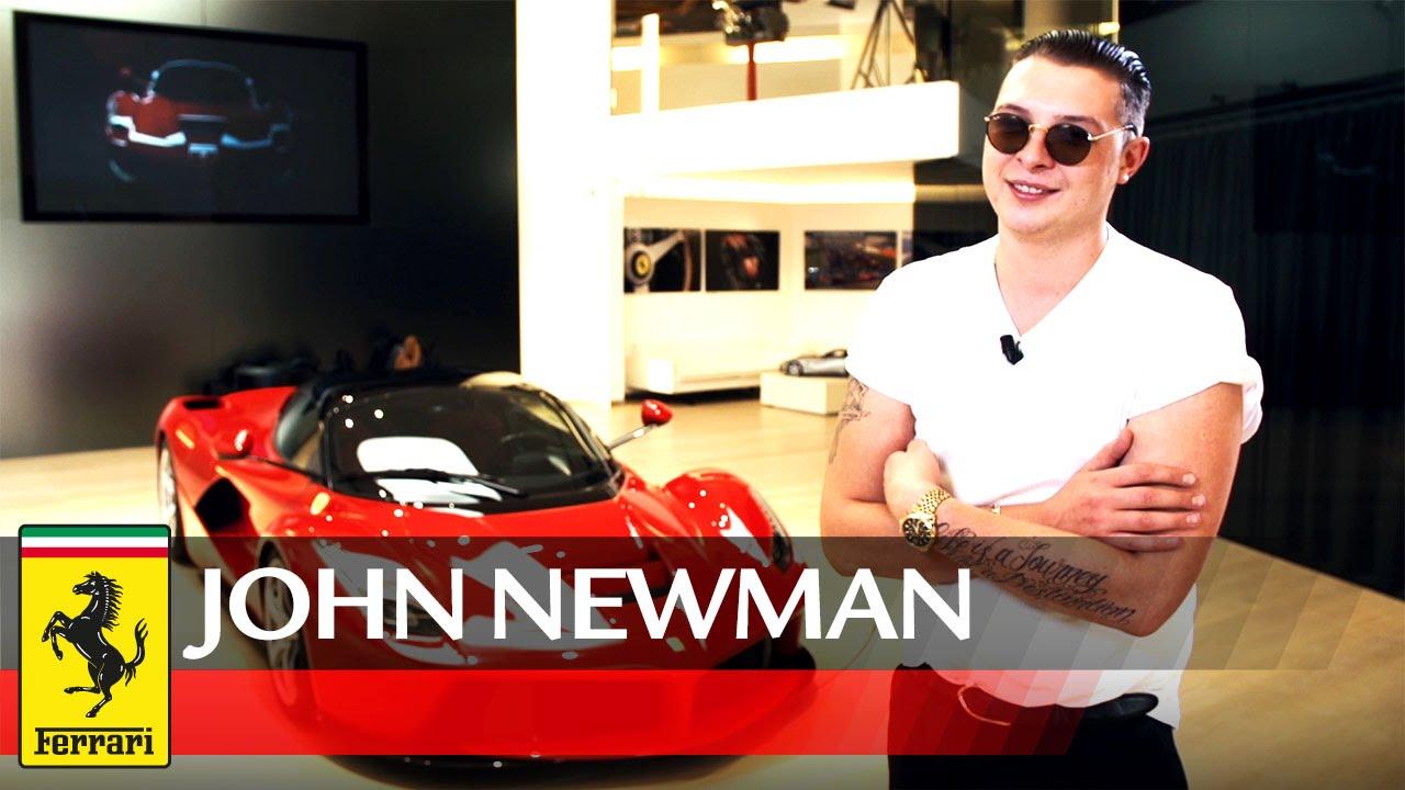 画像: John Newman visits Ferrari www.youtube.com