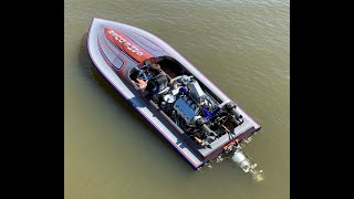 Twin-Turbo Jet Boat Rips the Water! Finnegan's Garage Ep.96