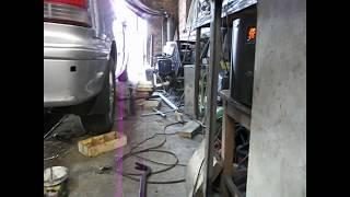 Хонда -Одиссей ремонт задней подвески.