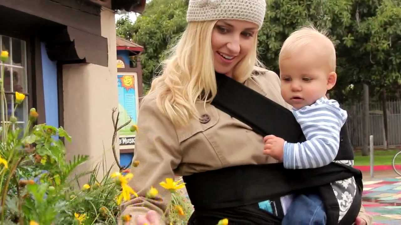 Sash Baby Carrier See It In Action