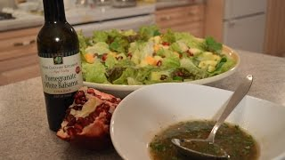 How To Make Napa Valley Pomegranate White Balsamic Vinaigrette: Cooking With Kimberly