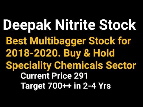 Best Long Term Stocks 2020 Deepak Nitrite Multibagger Stock 2018 2020 | Best Chemical Sector