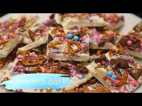 Quick Easy No-Bake Unicorn Bark
