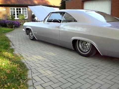 Chevrolet Impala Ss 1965 Bagged Youtube