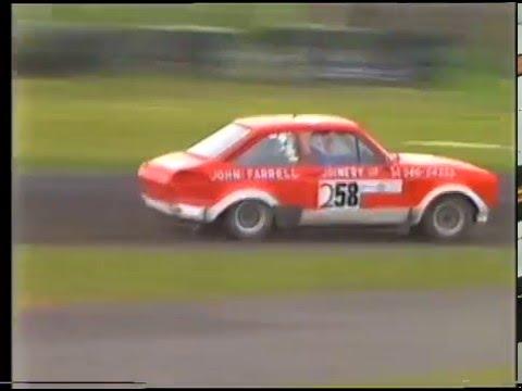 Irish Rallycross Mondello Park 1989-  Part 1