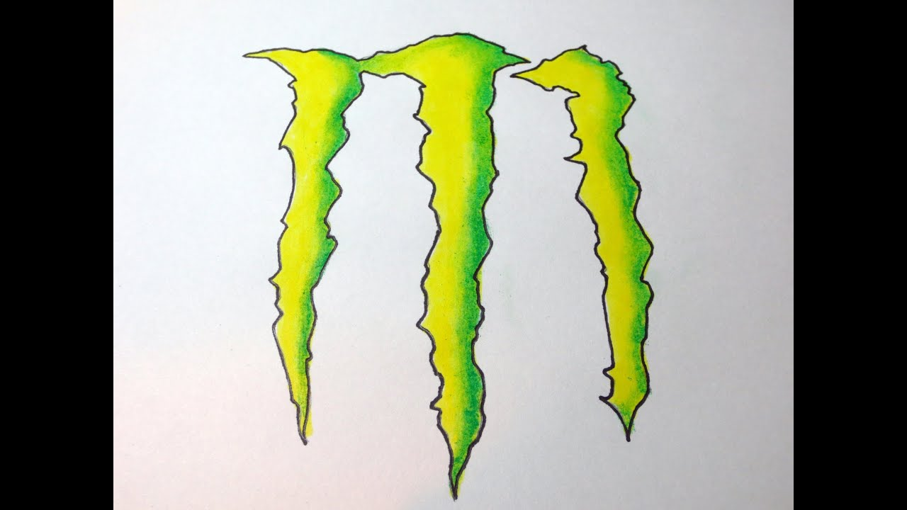 Picture Of Monster Energy Drink Symbol Wallsmiga