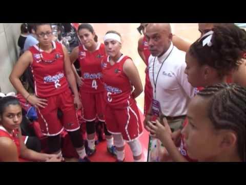 Honduras v Puerto Rico   Group A   2015 Centrobasket U17 Women's Championship