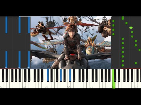Once There Were Dragons (How To Train Your Dragon 3) - Piano