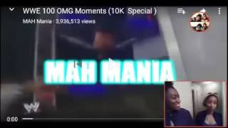 Download Video WWE 100 OMG Moments (10k Special) | REACTION MP3 3GP MP4