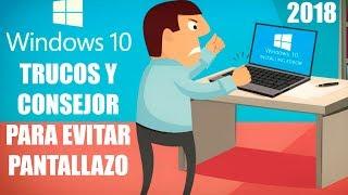 Como Evitar El Pantallazo Azul En Windows 10| TIPS Y TRUCOS|2018