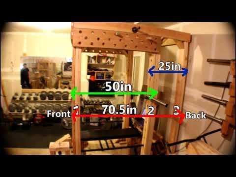 "How I built ""The Craziest Home Gym Ever"" Series: Episode#1 - Power-Rack"