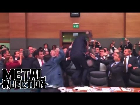 Turkish Parliament Mosh Pit | Metal Injection