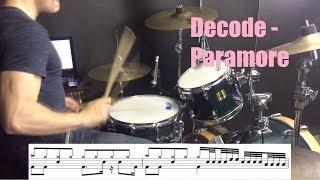 Decode Drum Tutorial - Paramore