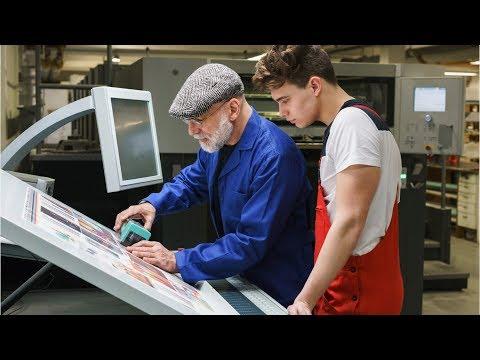 Printing Press Operators And Prepress Technicians Career Video