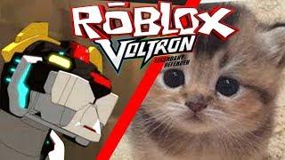 Je fais un chaton Voltron! - Concours de construction ROBLOX Voltron