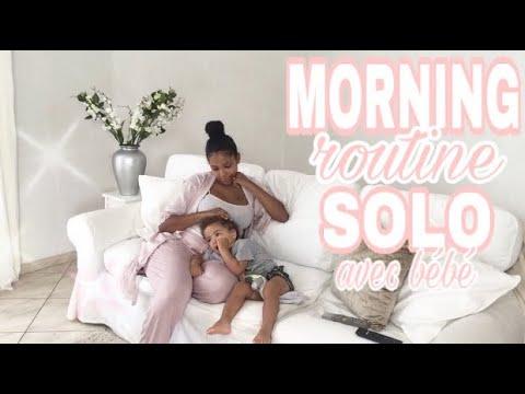 ☀️routine-du-matin-seule-avec-bÉbÉ-//-morning-routine-mom-&-baby-☀️