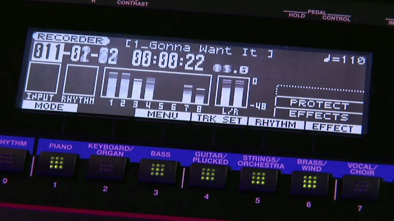 roland juno gi mobile synthesizer with digital recorder