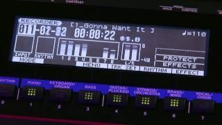 JUNO-Gi Mobile Synthesizer with Digital Recorder Overview