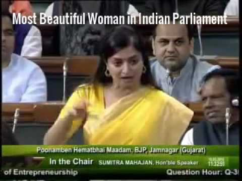 Most Beautiful Woman in Indian Parliament