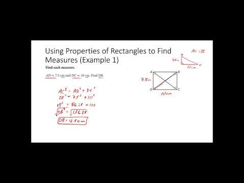 Geometry 9.3 Properties of Rectangles, Rhombuses, and Squares