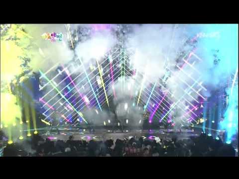 Big Bang - Fantastic Baby( Gangnam Style Remix.) @ Gayo daejun 2013