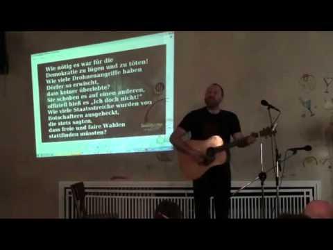 Song for Bradley Manning  - by David Rovics - Berlin Soundstrike