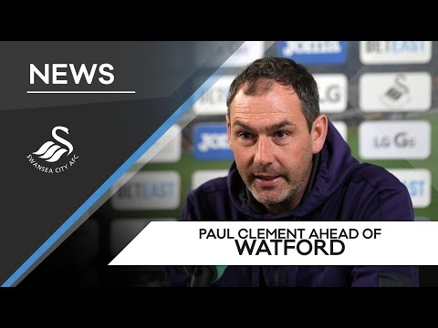 Swans TV - Preview: Paul Clement ahead of Watford