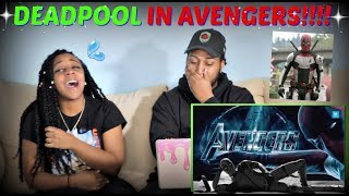 "MightyRacoon! ""Deadpool Invades Avengers: Endgame Trailer 2"" REACTION!!!"