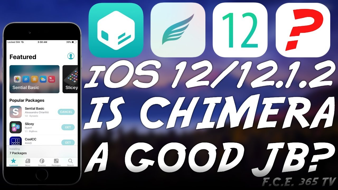 Chimera JAILBREAK 1 0 2 RELEASED! SHOULD YOU USE CHIMERA? IS IT STABLE?  (12 0 - 12 1 2)