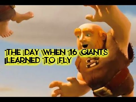 The day when 16 giants learned to fly