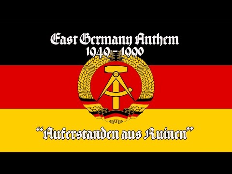 National Anthem of East Germany -