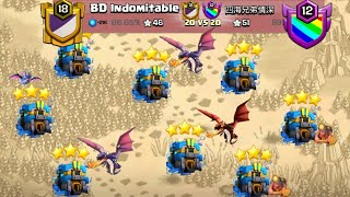 ELITE WAR 😭New 3 Star War Attack Strategy 2019 TH12! How to 3 Star in Clan War   Clash Of Clans
