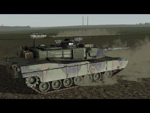 Abrams M1A2 vs T-34 ! Epic Tank Battle in War Game Men of War Assault Squad 2 Cold War Mod |