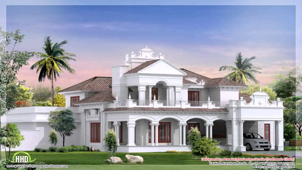 Kerala style house plans 1000 square feet youtube for 3000 sq ft house plans kerala